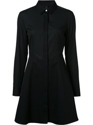 Alexander Wang Flared Shirt Dress Black
