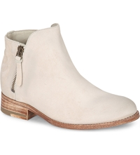 N.D.C Made By Hand Helene Leather Ankle Boots Cream
