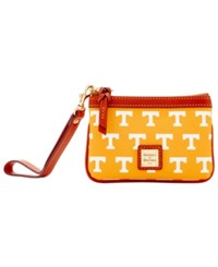 Dooney And Bourke Tennessee Volunteers Exclusive Wristlet Orange