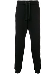 Versace Basic Tapered Joggers Black