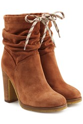 See By Chloe Suede Ankle Boots Camel