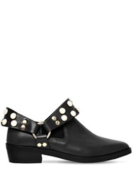 Coliac 30Mm Griet Embellished Leather Boots Black