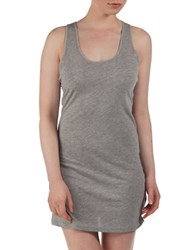 Bench Racerback Mini Dress Grey