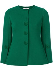 Charlott Fitted Jacket Green