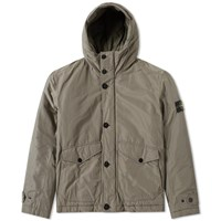 Stone Island Micro Reps Insulated Hooded Jacket Green