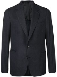 Paul Smith Black Label Front Button Suit Jacket Blue