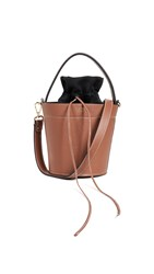 Mateo The Madeline Bucket Bag Cognac