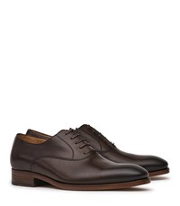 Reiss Cirion Mens Leather Dress Shoes In Red