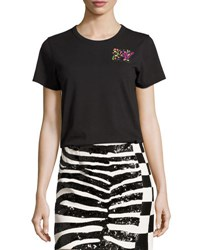 Marc Jacobs Classic Sequined Mtv Tee Black