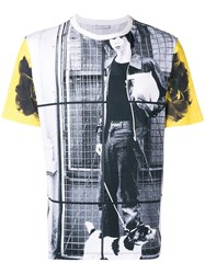 J.W.Anderson Jw Anderson Gilbert And George Dog Boy Allover Print T Shirt White