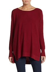 Joie Zephyrine Drop Shoulder Sweater Deep Scarlet