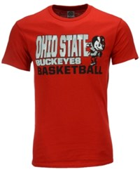 J America Men's Ohio State Buckeyes Slogan Stack T Shirt