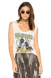 Junk Food Def Leppard Hysteria Tank White