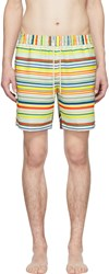 Loewe Multicolor Striped Swim Shorts