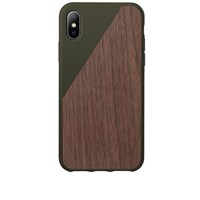 Native Union Wood Edition Clic Iphone X Case Green