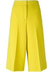 Odeeh Cropped Trousers Yellow And Orange