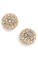 Givenchy Women's Pave Ball Stud Earrings