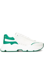 Dolce And Gabbana Daymaster Low Top Sneakers White