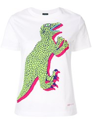 Paul Smith Ps By Dinosaur T Shirt White