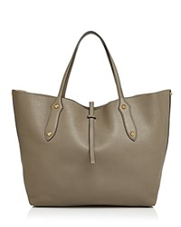 Annabel Ingall Isabella Large Leather Tote Putty Gold
