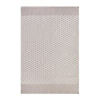 Hug Rug Trellis 100 Recycled Natural Neutral