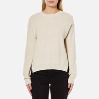 Helmut Lang Women's Button Sweater Alabaster White