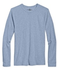 American Rag Men's Long Sleeve Thermal Shirt Only At Macy's Blue Stone
