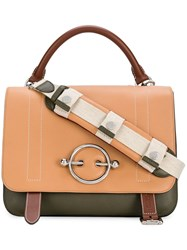 J.W.Anderson Jw Anderson Disc Satchel Bag Nude And Neutrals