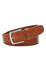 Men's Fossil 'Joe' Belt Cognac