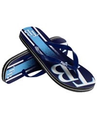 Forever Collectibles Tampa Bay Rays Gradient Big Logo Flip Flops Assorted