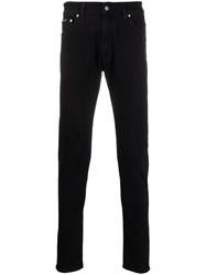 Represent Slim Fit Chinos Black