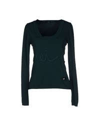 Hanita Sweaters Dark Green