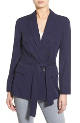 Women's 1.State Belted Double Breasted Blazer