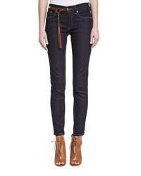 Ralph Lauren 400 Matchstick Jeans With Harness Indigo