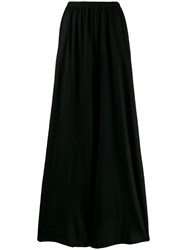 The Row Palazzo Trousers Black