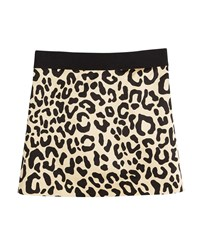 Milly Minis Cheetah Print Mini Skirt Size 8 16