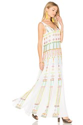Rococo Sand Long Pleated Dress White