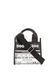 Dsquared2 Printed Clear Tote Bag 60