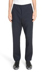 Acne Studios Men's Ari Wool And Mohair Relaxed Fit Pants