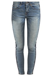 Vila Vicrush Slim Fit Jeans Medium Blue Denim