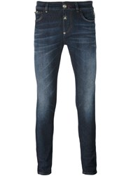 Philipp Plein 'Forever' Slim Fit Jeans Blue
