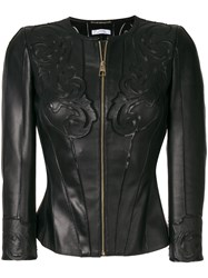 Versace Collection Embossed Jacket Black