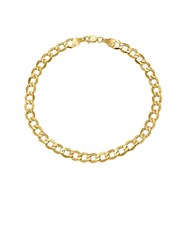 Lord And Taylor 14K Yellow Gold Cuban Chain Bracelet