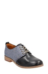Clarksr Women's Clarks Zyris Toledo Oxford Navy Leather