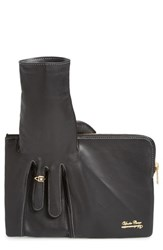 Undercover Leather Glove Clutch