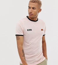 f7c329a3 Diego Recycled Ringer Logo T Shirt In Pink Exclusive At Asos