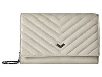 Botkier Soho Quilted Wallet On A Chain Ash Wallet Handbags Gray