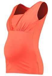 Queen Mum Vest Spicy Red Coral