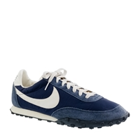 J.Crew Unisex Nike Vintage Collection Waffle Racer Sneakers Navy
