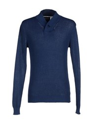 Bomboogie Knitwear Jumpers Men Dark Blue